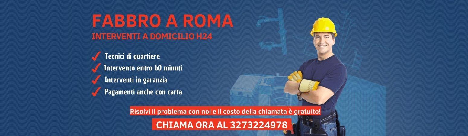 Fabbro roma pronto intervento H24