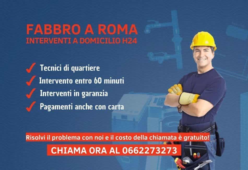 Fabbro Roma - Pronto intervento fabbro h24